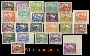 32441 -  Pof.1-26, without better stamps (only 23 pcs of), 2x lightl