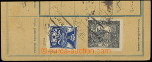 32582 - 1920 Pof.143A with retouch on pos. 45 (letter), on/for cut,