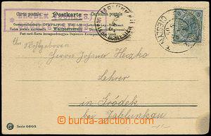 32944 - 1904 pohlednice s razítkem (německo - polským) poštovny