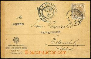 32953 - 1903 printed matter f. Joseph Reithofferś sons Wien franked