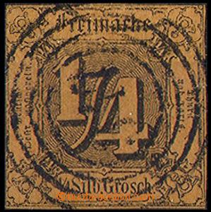 33013 - 1852 Mi.1, luxusní, jedna strana těsnější střih, dobr�