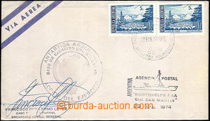 33131 - 1974 letter without address from argentinské base Gen. Belgr