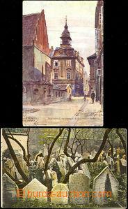 33195 - 1919/? Praha, kreslená pohlednice od J.Šafaříka : Staronová
