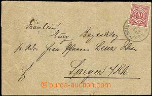 33532 - 1899 letter with Mi.46, CDS Hall (Schwablsch)/ 11.OCT.99, on