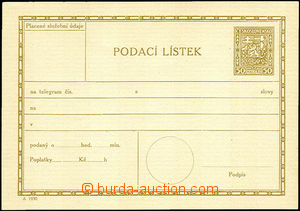 33550 - 1930 1930 CPL3A, form B,very nice quality,RARE, cat. 5000Kč