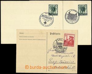 33591 - 1938/39 NĚMECKO  sestava 5ks lístků s PR k narozeninám A