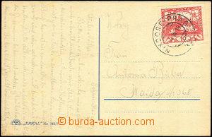 33602 - 1919 pohlednice vyfr. zn. Pof.5 s předběžným razítkem V