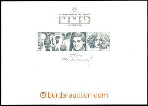 33740 - 2003 příležitostný tisk pro výstavu STAMPEX 2003 London
