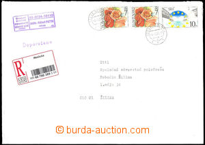 33745 - 2003 Reg letter greater format with Zsf.2x 286 + 249, CDS Ne