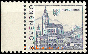 33768 - 1993 Zsf.3 Ružomberok, margin piece with VV missing color wi