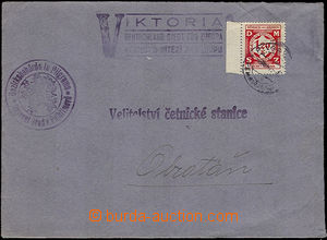 33877 - 1941 service letter with print propagandistic postmark Victo