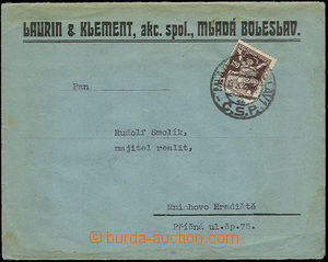 33879 - 1922 identification entires firm Laurin & Clement, with 100h