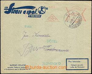 34023 - 1938 commercial envelope sent as commercial printed matter p