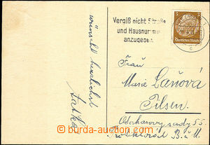 34033 - 1941 C.C. BUCHENWALD  Easter card for reward allowed to send