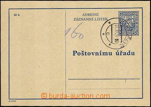 34037 - 1937 CAZ1A  prošlý s DR Velký Dřevíč 27.III.37, luxusní, kat