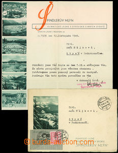 34089 - 1946 Špindlerův Mlýn - klimatické bath, envelope and hea