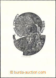 34120 - 1970 LUKAVSKÝ Jaroslav, ex libris Ladislav Opatrný, signován