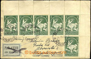 34151 - 1936 air-mail letter to Czechoslovakia, with Mi.6x 235 (in f