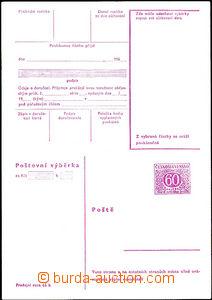 34206 - 1968 stationery CPV32h, unfolded, c.v.. 380CZK
