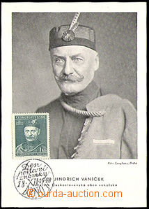 34235 - 1948 Czechoslovakia  chief Sokol Czechoslovakia Henry Vaníče