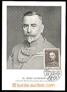 34236 - 1948 Czechoslovakia  Dr. Joseph Scheiner, mayor Sokol Czecho