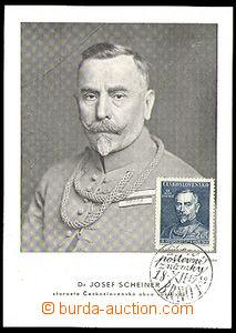 34237 - 1948 Czechoslovakia  Dr. Joseph Scheiner, mayor Sokol Czecho