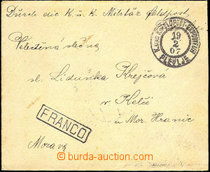 34268 - 1907 manoeuvres in/at Montenegro - K.u.K Feldpost (Field-Pos