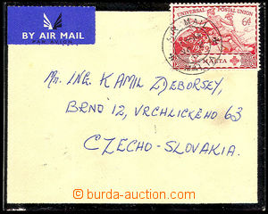 34489 - 1949 air-mail letter with Mi.218, addressed to to Czechoslov