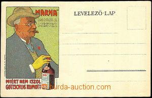 34559 - 1900 advertising color lithography. additional printing on/f