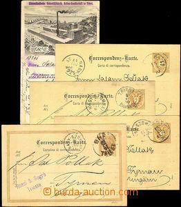 34563 - 1890-1905 AUSTRIA  sestava více jak 70ks dopisnic a prošl�