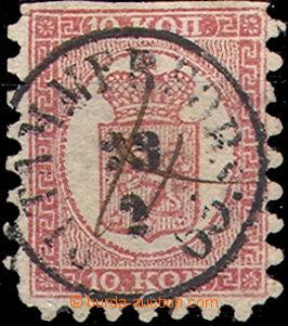 34683 - 1860 Mi.4Bx, nahoře nezoubkovaná, téměř celé DR Sitahm