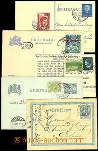 34695 - 1876-1951 sestava 6ks prošlý dopisnic, Mi.P4I, P45, P144, P2