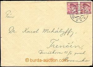 34828 - 1939 Velké Karlovice - Hranice č.622/ 11.IX.39, předběž