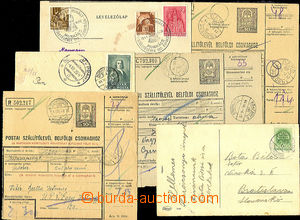 35176 - 1939/44 comp. 6 pcs of various entires with postmarks from C