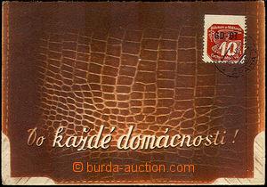 35222 - 1940 Obchodní tiskopis, skládaný reklamní lístek vyfr.