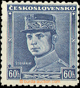 35278 - 1939 Alb.1, blue Štefánik, mint never hinged, commercial mar