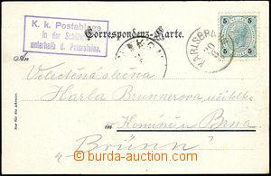 35393 - 1900 framed pmk K.u.K.. Postablage in der Schäferei unterhal