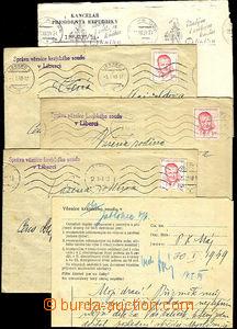 35451 - 1948-49 Prison of District Court in/at Liberec  comp. 3 pcs