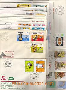 35467 - 1981-82 MOZAMBIQUE  sestava 34ks FDC, převážně motivy, b
