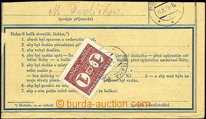 35519 - 1939 ústřižek průvody s předběžnou známkou potravní
