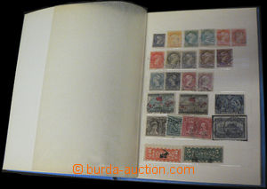 35527 - 1870-1980 CANADA  comp. of stamps in/at 1 small stockbook, p