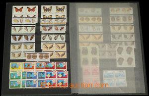 35529 - 1979-81 ANGOLA  sbírka zn. a aršíků v 1 zásobníku A4,