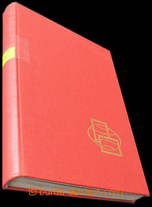 35583 -  stockbook Pofis A4, red, 16stran, black sheets, rovný, as