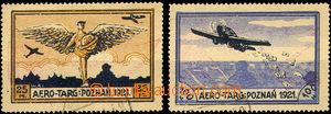 35641 - 1921 Mi.I-II, Letecké - poloúřední vydání, kat. 29€
