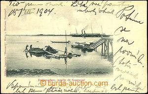 35652 - 1904 EKVÁDOR -  Embarcadero, přístavní molo, dl. adresa,