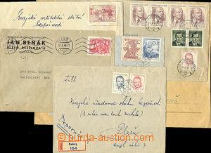 35667 - 1949 sestava 6ks dopisů adresovaných na Krajskou úřadovn