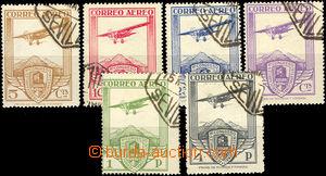 35699 - 1930 letecké Mi.457-462, (náklad 25000 sérií), kat. 80�