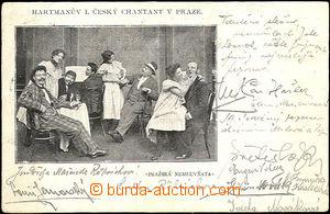 35801 - 1903  B/W postcard from Hartmanova I.českého šantánu in