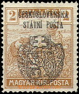 35825 - 1918 Skalica issue   Pof.RV119, exp. Gilbert