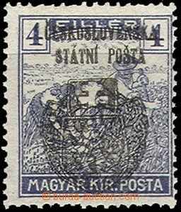 35827 - 1918 Skalica issue Pof.121, exp. Gilbert